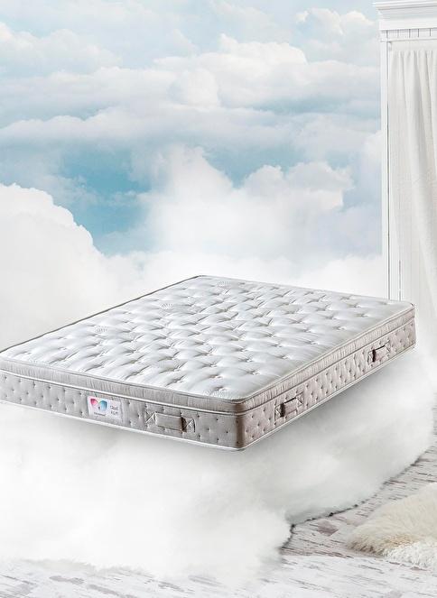 Hibboux Cloud R.E.M. Pocket Yaylı Yatak 180x200 Cm Beyaz